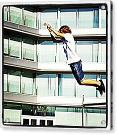 Parkour O Marisquiño 2011 #parkour Acrylic Print