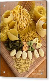 Pasta Acrylic Print by Photo Researchers, Inc.