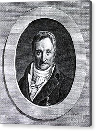 Philippe Pinel, French Physician Acrylic Print by Science Source