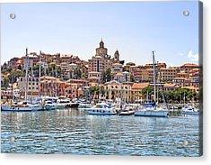 Porto Maurizio - Imperia Acrylic Print by Joana Kruse