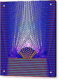Quantum Resonance Acrylic Print by Eric Heller