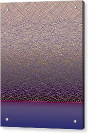 Quantum Waves Acrylic Print by Eric Heller