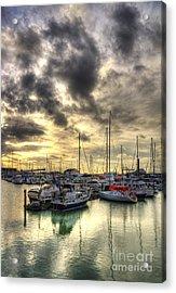Ramsgate Harbour Acrylic Print by Lee-Anne Rafferty-Evans