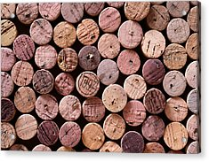 Red Wine Corks Acrylic Print by Frank Tschakert