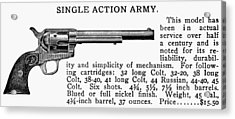 Revolver, 19th Century Acrylic Print by Granger