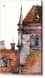 Riga Acrylic Print by Natalia Eremeyeva Duarte