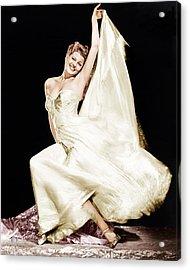 Rita Hayworth, 1940s Acrylic Print