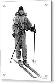 Robert Scott, English Explorer Acrylic Print by Photo Researchers