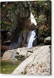 Sabbaday Falls Acrylic Print by David Gilman