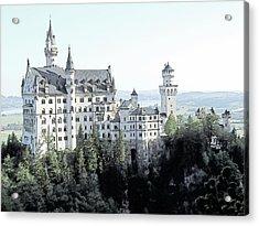 Schloss Neuschwanstein Germany Acrylic Print by Joseph Hendrix