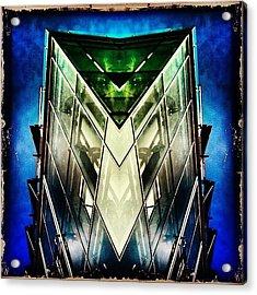 #scifi #symmetry #picoftheday Acrylic Print