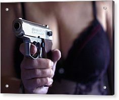 Sex And Crime Acrylic Print by Franz Roth