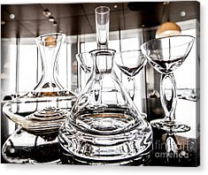 Shadow Of Luxury Glass Acrylic Print by Chavalit Kamolthamanon