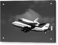 Shuttle Endeavour Acrylic Print by Jason Smith