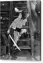 Silent Film Still: Pirates Acrylic Print by Granger