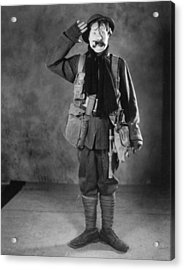 Silent Film Still: Uniforms Acrylic Print by Granger