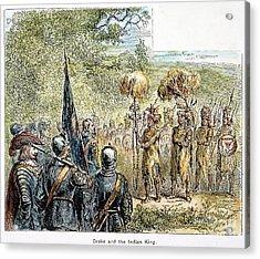 Sir Francis Drake Acrylic Print by Granger