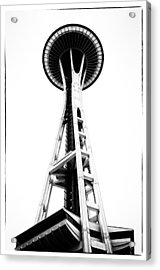 Space Needle Acrylic Print by Tanya Harrison