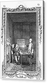 Sterne: Tristram Shandy Acrylic Print by Granger
