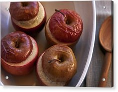 Stuffed Baked Apples Acrylic Print by Joana Kruse