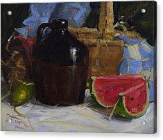 Summer Acrylic Print by Judy Crowe