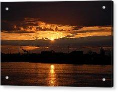 Sunrise Acrylic Print by Randy J Heath
