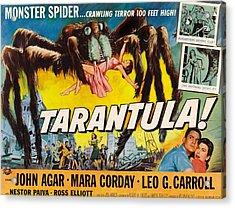 Tarantula, John Agar, Mara Corday, 1955 Acrylic Print