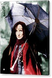 The Devil Is A Woman, Marlene Dietrich Acrylic Print by Everett