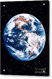 The Earth Acrylic Print by Stocktrek Images