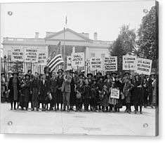 The Espionage Act Of 1917 And Sedition Acrylic Print