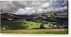 The Hope Valley Derbyshire Acrylic Print by Darren Burroughs