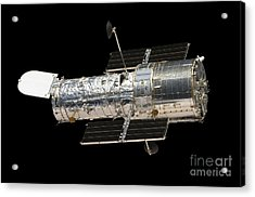 The Hubble Space Telescope Acrylic Print by Stocktrek Images