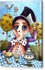 The Mad Hatter Acrylic Print