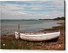 Acrylic Print featuring the photograph The Old Boat by Shirley Mitchell