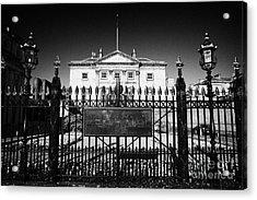 The Royal Bank Of Scotland Edinburgh Scotland Uk United Kingdom Acrylic Print by Joe Fox