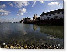 The Stour Estuary Manningtree Essex Acrylic Print by Darren Burroughs