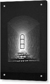 The Window Of The Castle Of Tavastehus Acrylic Print by Jouko Lehto