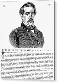 Thomas Francis Meagher Acrylic Print by Granger
