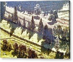 Transylvania Landscape Acrylic Print by Odon Czintos