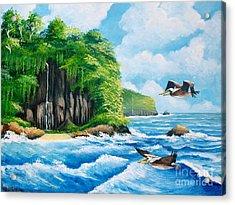 Treasure Island Acrylic Print