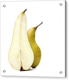 Two Pears Acrylic Print by Bernard Jaubert