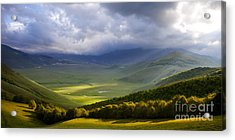 Umbria Acrylic Print by Brian Jannsen