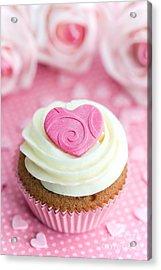 Valentine Cupcake Acrylic Print