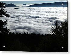 Acrylic Print featuring the photograph Valley Of The Clouds by Doug McPherson
