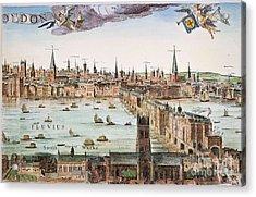 Visscher: London, 1616 Acrylic Print