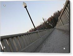 Walking Bridge Acrylic Print