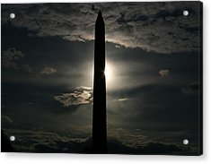 Acrylic Print featuring the photograph Washington Monument by Stacy C Bottoms