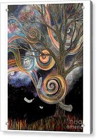 Welcome Wind Acrylic Print by Monica Furlow
