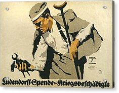 World War I, German Poster Shows Acrylic Print by Everett