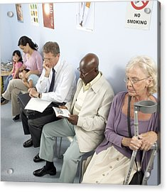 General Practice Waiting Room Acrylic Print by Adam Gault